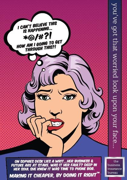 professional indemnity insurance leaflet